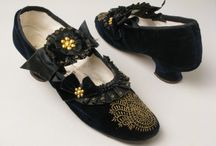 1870s - shoes & accessories