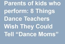 Advice for parents of dancers / Rae connects parents with dance advice and tips. Subjects addressed include: Thinking of enrolling your child in dance class? Already have a child who dances, but doesn't enjoy it? Want to help your child turn pro? Unsure if your special needs child is ready for dance?