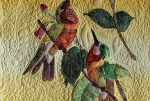 oiseaux en quilt 1