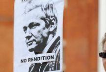 UK POLICE WANT A S S A N G E  AS HE SEEKS ASYLUM IN ECUADOR