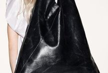 Bags : leather