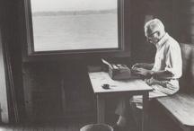 Escritores com Maquinas de Escrever / Autores célebres com as suas máquinas de escrever