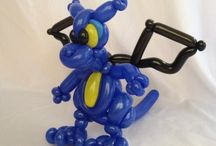 A study in Dragon balloons. / Dragon balloon ideas including designs by others and designs by me. / by Brett Belleque