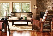 Stickley Furniture / Mission, Upholstery, Leather, Contemporary,  Traditional, Modern.