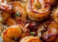 Crevette marinée
