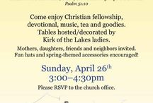 mother daughter church event