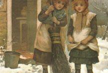 Dzieci - zima