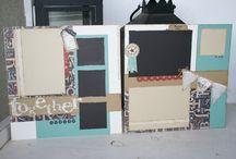 Scrapbooking layouts / by Belinda Gonzales Postula