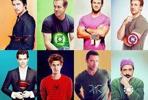 Tegneserie helte