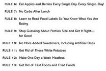 Health ruels and tips