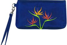 Kohala Hawaiian Wristlets / The luxurious yet affordable Kohala Hawaiian wristlet puts the beauty of the islands into your hands, yet it's subtle enough to work well on a night out even in colder climates.