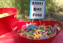 Carson's angry birds birthday  / by Katie Jones