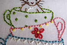Embroidery and stitchery
