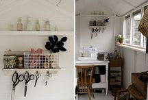 Decorating the Workshop / Ideas to decorated my lack luster workshop
