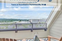 Towns at Stonefield - Charlottesville, VA / Live, shop, and dine all within minutes of your new home! Come check out the Towns at Stonefield in Charlottesville, VA. http://www.christophercompanies.com/communities/the-towns-at-stonefield/