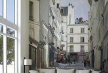 cizimlerle sokak ve sokak resimleri