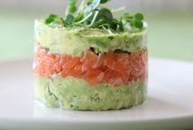 Salmon stacks