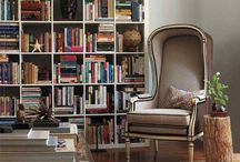 THE WELL-STYLED BOOKCASE / Celebrating the art of the mix.