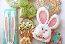 Sugar cookies: Easter