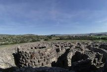 Nuraghi / The Nuraghe is the typical construction of neolithic period in Sardinia. The nuragic civilization is unique in the mediterranean area and you can find them just in our island.