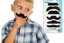 mustache mania / cute mustache products, mustache gifts