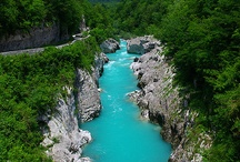 Soča valley, Slovenia / Named after the river Soča, which rustles down from the mountains, Soča valley offers to the visitor the most magnificent scenery, adrenaline adventures and a pristine contact with nature.