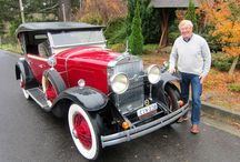 FLORA, a new friend ... / FLORA is a lovingly restored 1928 Cadillac Lasalle