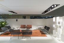 LIVING DIVANI + INAIN® interiordesign / Stand Feira de Milão 2015