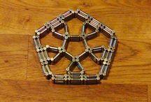 Magnetic toy (pentagonal)