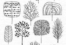 рисунки для дерева