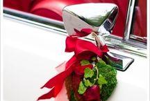 samochód dekoracja