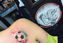 fútbol tatoo