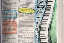 Art journal - Bible