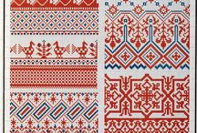 Embroidery pattern Russian