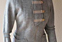 Shirt Jacke grau