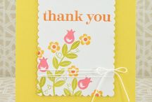 Thank You Cards / by Sheri Frame