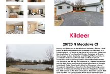 Real Estate for Sale in Kildeer, Illinois / Just Listed: 20720 N Meadows Ct, Kildeer IL, 60047  Contact Me Today at 847-558-9735 With Any Questions or to See This Home!