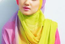 baju muslim / Cara berbusana wanita muslim