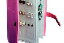 Creative Jewelry Storage / DIY jewelry storage ideas, jewelry display, and tips on organizing jewelry / by Nicolette Tallmadge | Handmade Jewelry