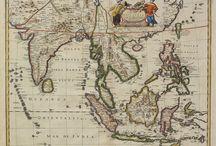 Antique Maps - Asia / Antique Maps - Asia