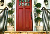 Front doors / by Katie Crevda