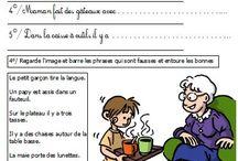 School CP CE1 Français