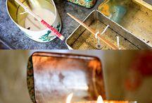 diy candels