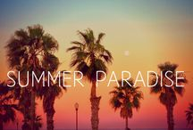 Summer <3 Paradise / by Rebecca Mains