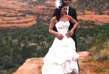 Weddings in Sedona / Ever wanted to get married in Sedona? We have the perfect intimate spot!