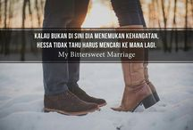 Novel My Bittersweet Marriage / Tentang quote dari novel My Bittersweet Marriage