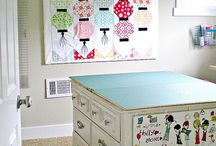 Sewing Room Ideas / by Georgia Macdonald