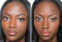 Pele negra: contorne e ilumine!