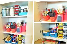 Budget Friendly Ways To Organize Leftover Paint & Supplies