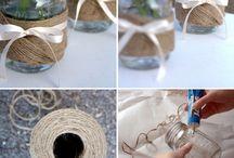 Mason jar ideas / by Susie Wittwer